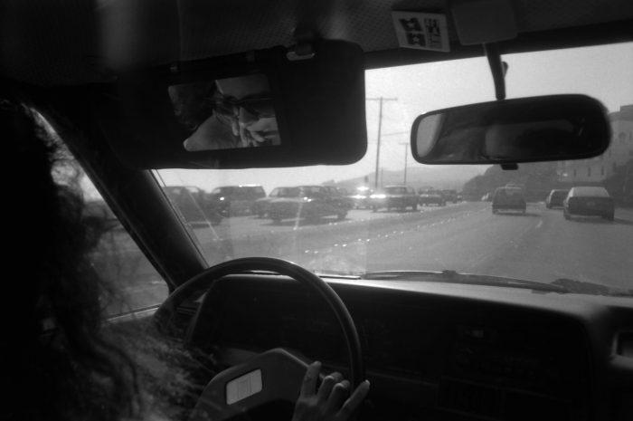 Driving alone in LA on PCH