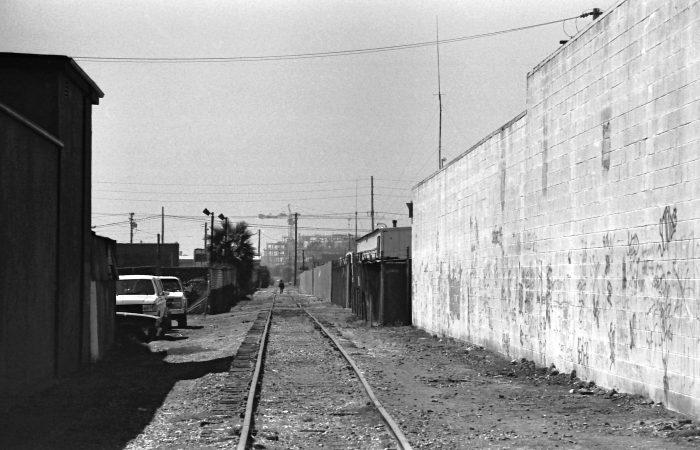 Abandoned back street