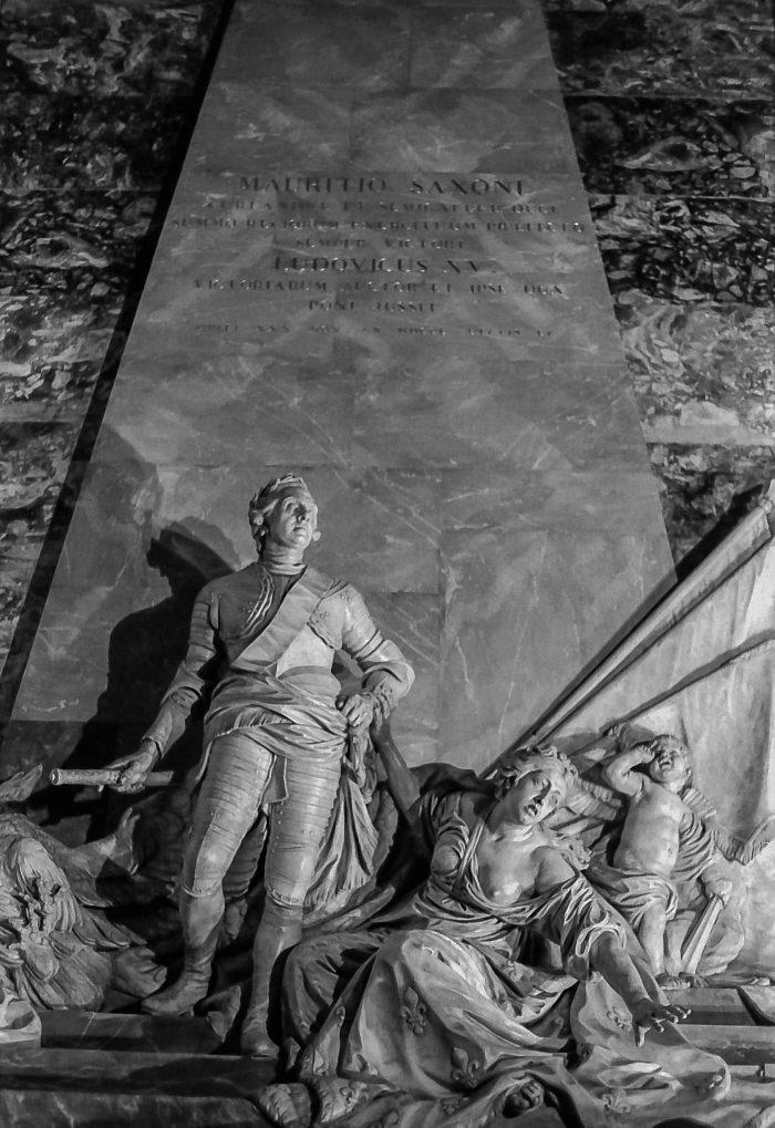 Le mausolée du Maréchal de Saxe